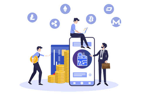 Number of cryptocurrency wallets